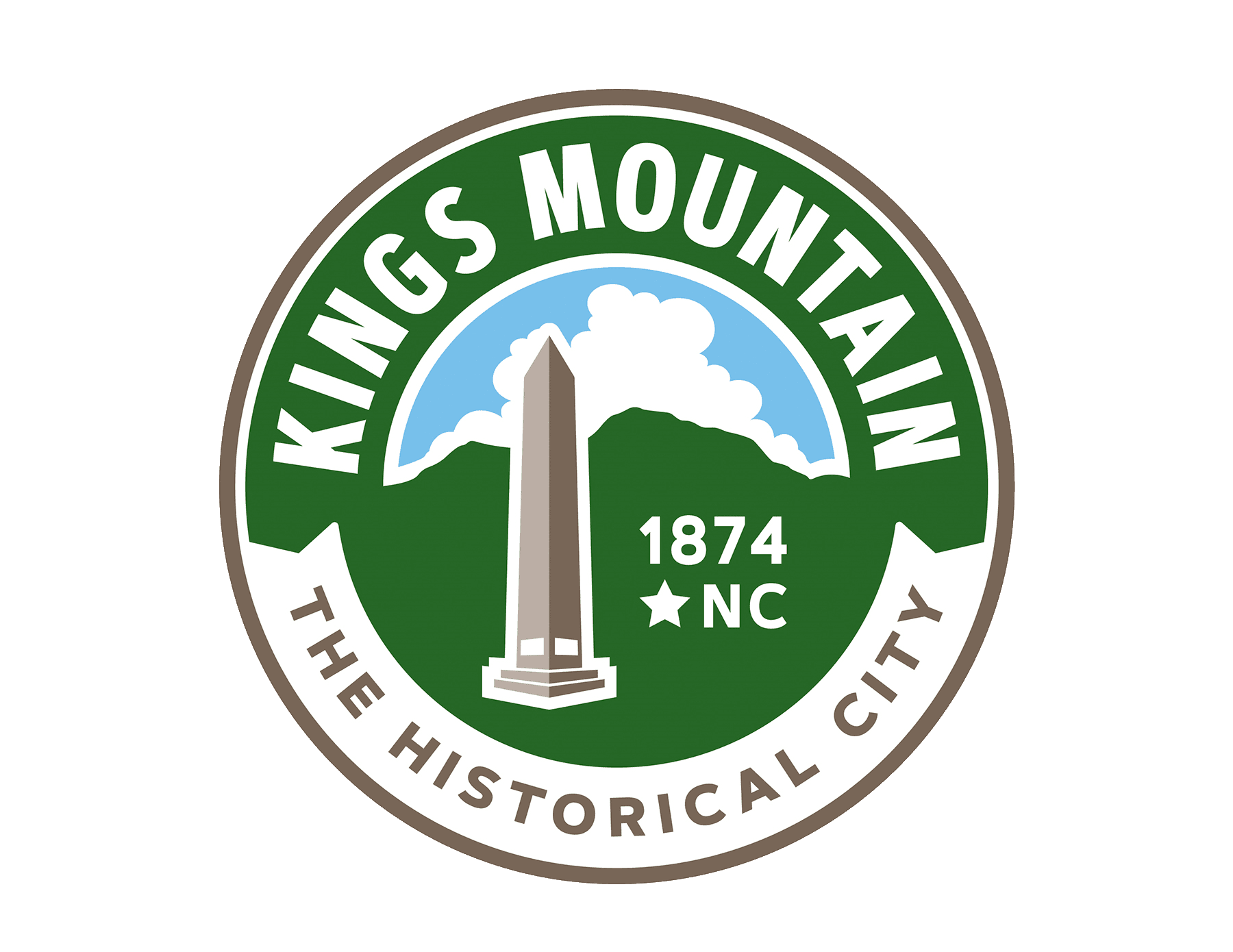 kingsmountain seal large clear small