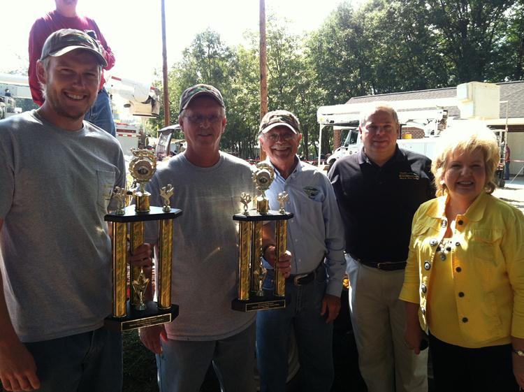 Natural Gas Backhoe Team Rodeo Winners